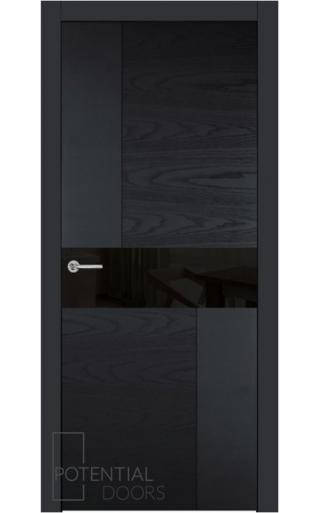 Potential Doors Potential Doors Blend 408.57 ДО Черный 9005 Лакобель черный