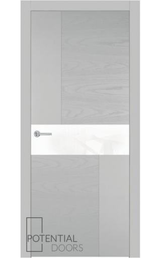 Potential Doors Potential Doors Blend 408.57 ДО Светло-Серый 7047 Лакобель белый